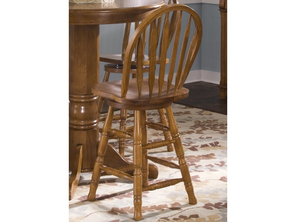 Liberty Furniture Nostalgia 24 Inch Barstool