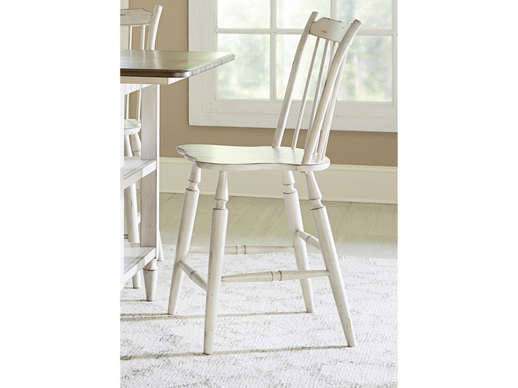 Liberty Furniture Oak Hill DiningWindsor Back Counter Chair