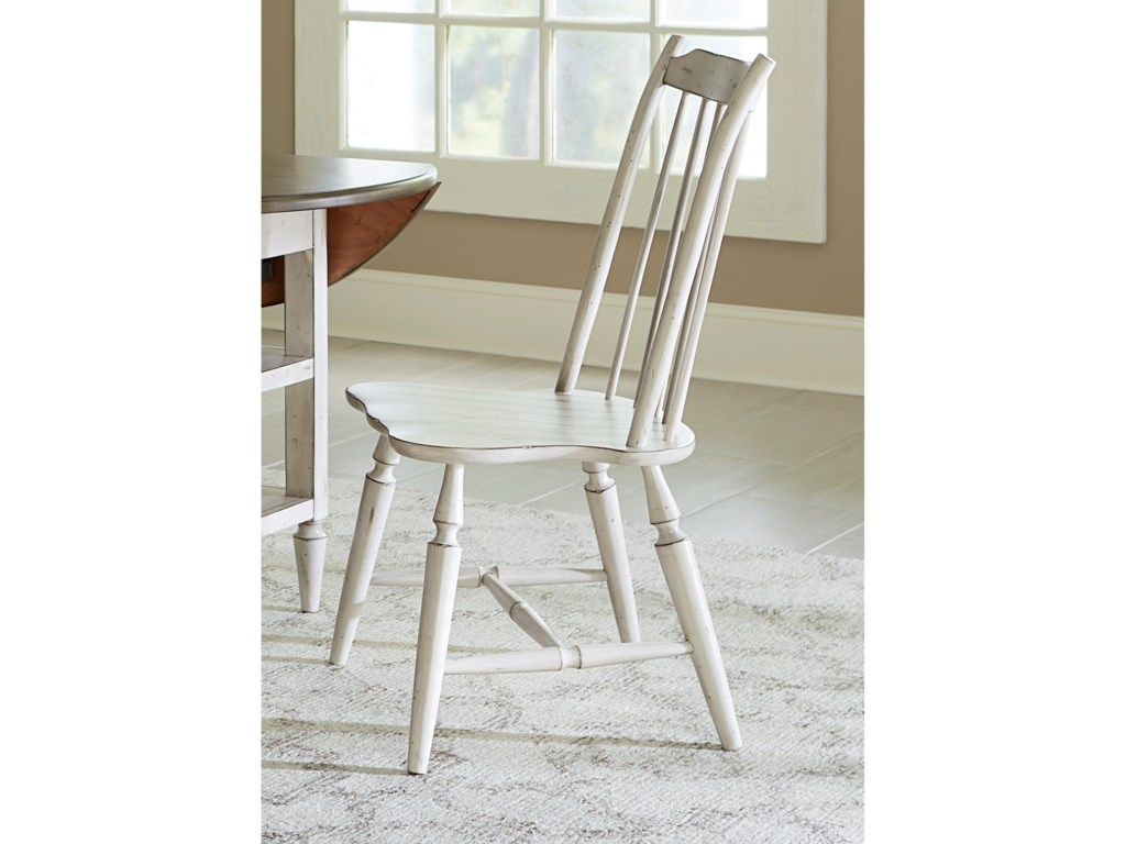 Liberty Furniture Oak Hill DiningWindsor Back Side Chair