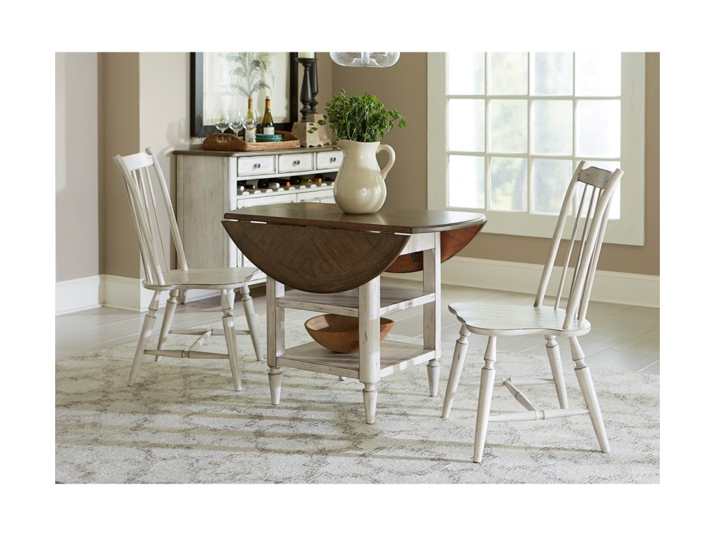 Liberty Furniture Oak Hill DiningDrop Leaf Table