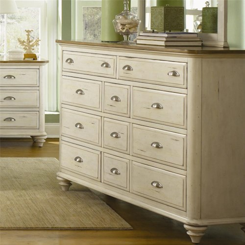 Liberty Furniture Ocean Isle  11 Drawer Dresser