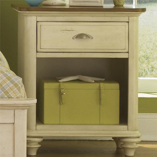 Liberty Furniture Ocean Isle  Youth 1 Drawer Nightstand