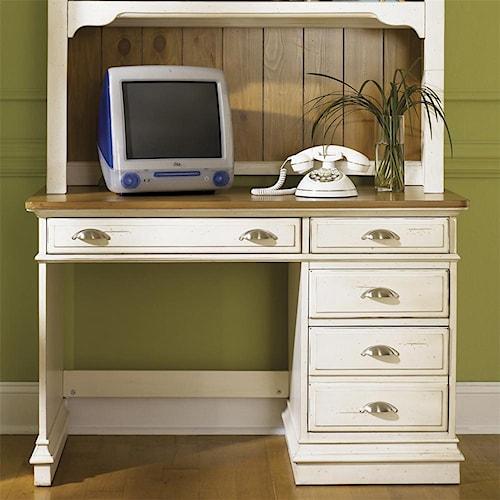 Liberty Furniture Ocean Isle  Single Pedestal Student Desk