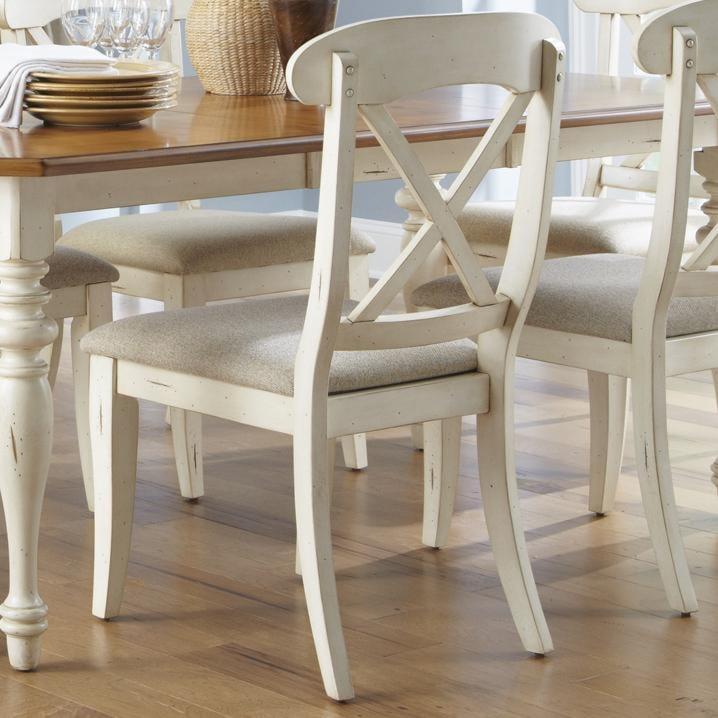 Liberty Furniture Ocean Isle X-Back Side Chair