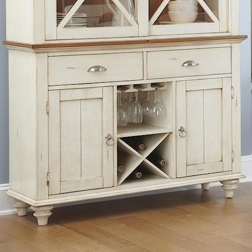 Liberty Furniture Ocean Isle  Two Door, Two Drawer Dining Buffet