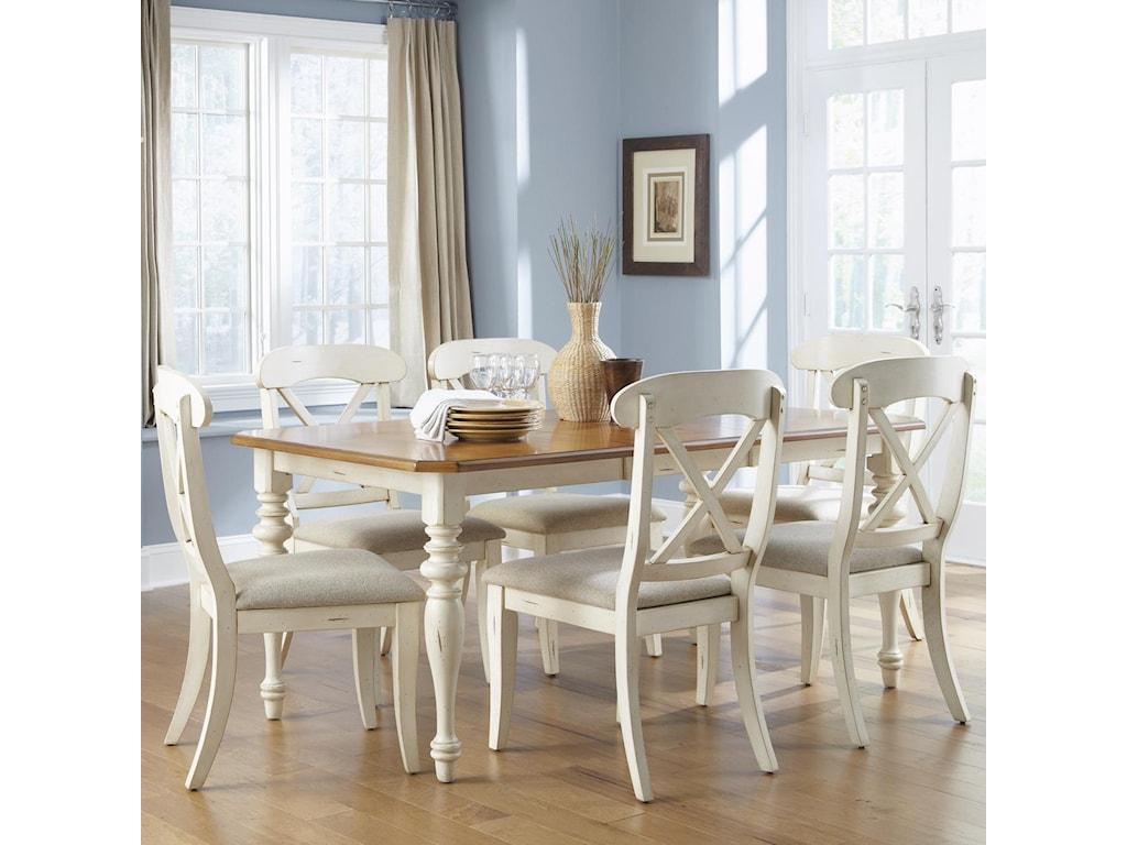 Liberty Furniture Ocean Isle 7-Piece Dining Set
