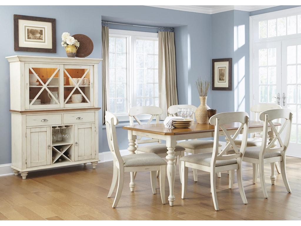 Liberty Furniture Ocean Isle Hutch & Buffet