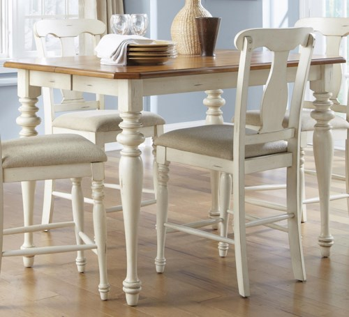 Liberty Furniture Ocean Isle  Gathering Height Dining Table