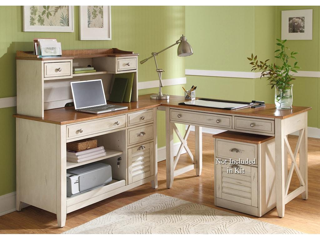 Liberty Furniture Ocean Isle Complete Desk