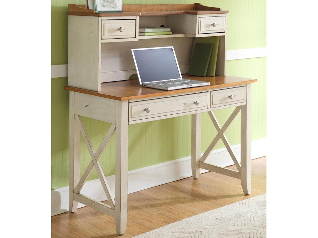 Liberty Furniture Ocean Isle Desk and Hutch