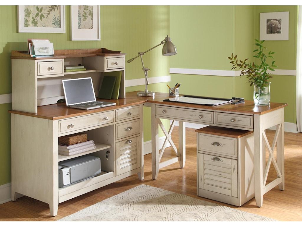 Liberty Furniture Ocean Isle Computer Credenza