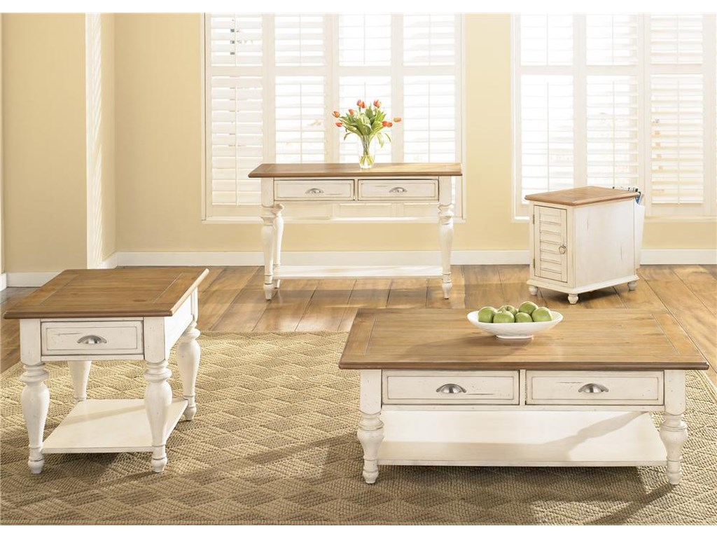 Liberty Furniture Ocean Isle Rectangular End Table
