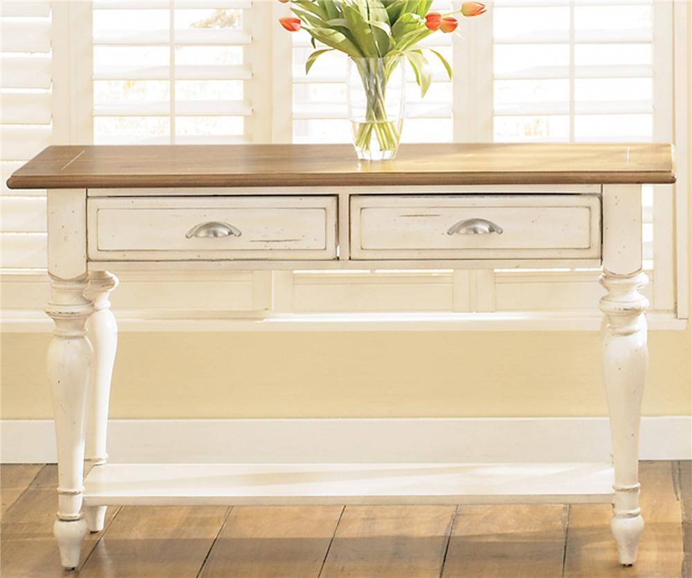 Liberty Furniture Ocean Isle Sofa Table ...