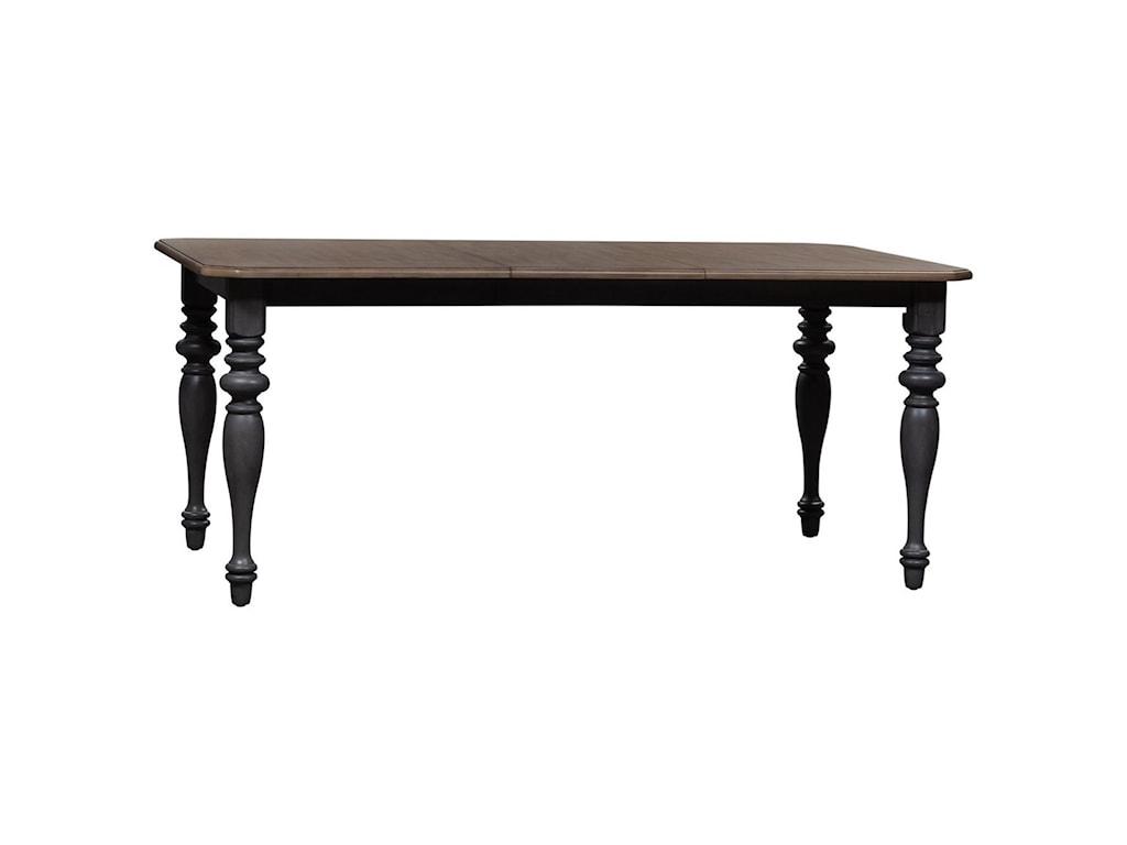 Vendor 5349 Ocean IsleRectangular Leg Table