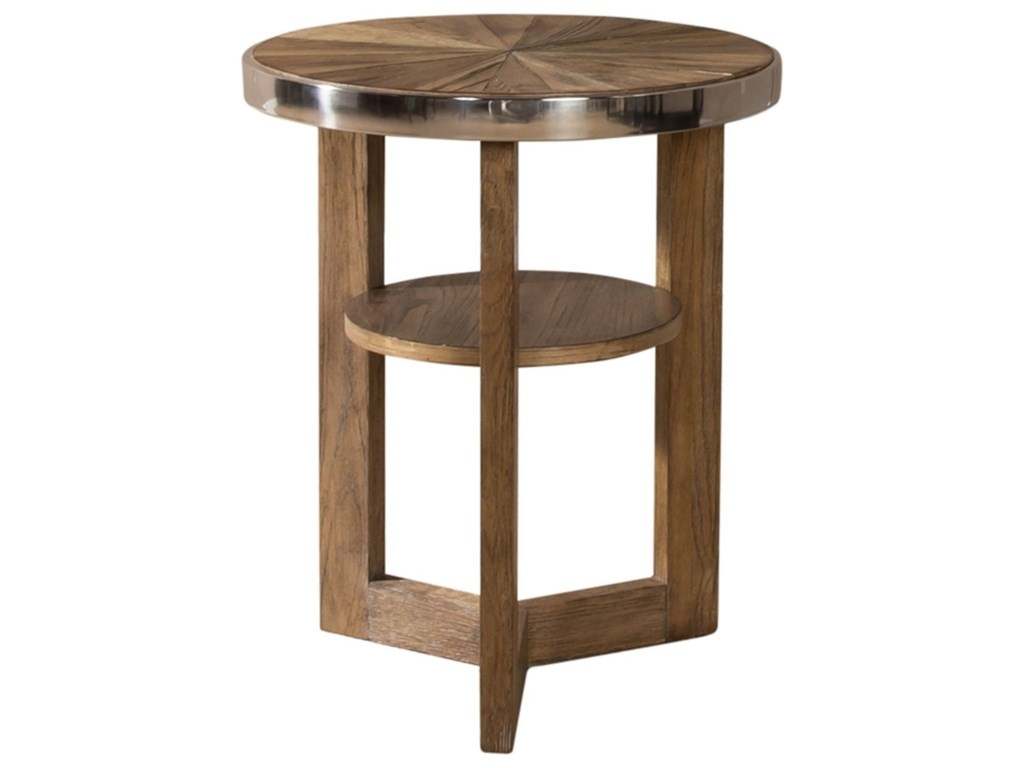 Liberty Furniture OmegaRound Chair Side Table