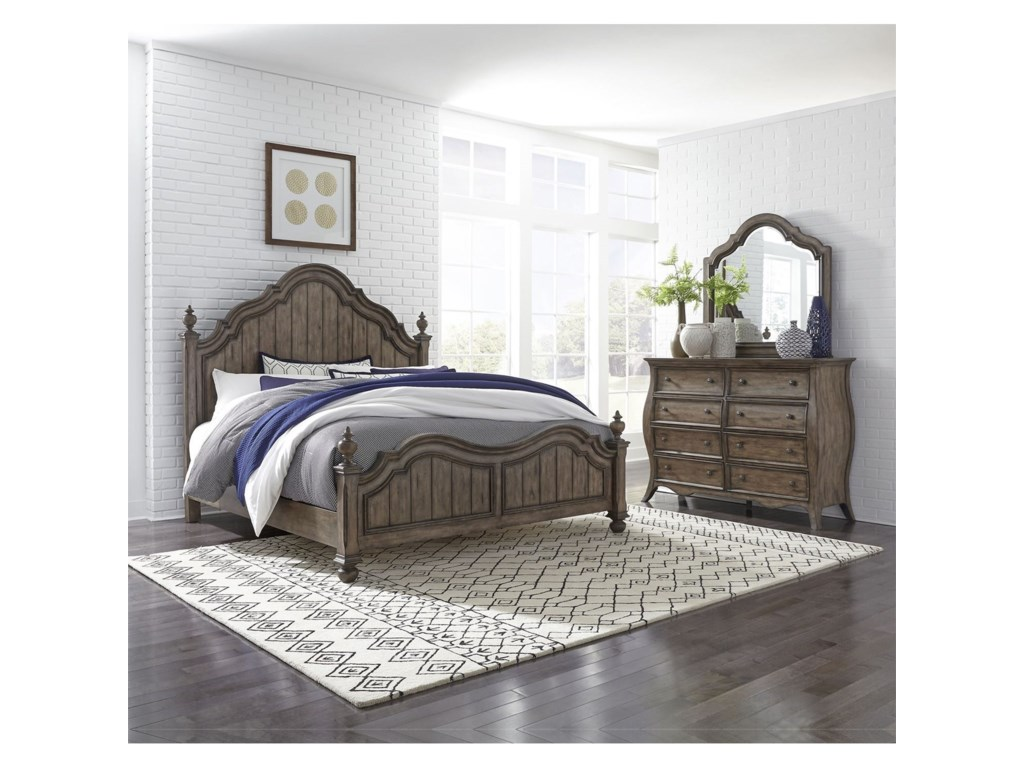 Liberty Furniture Parisian MarketplaceQueen Bedroom Group