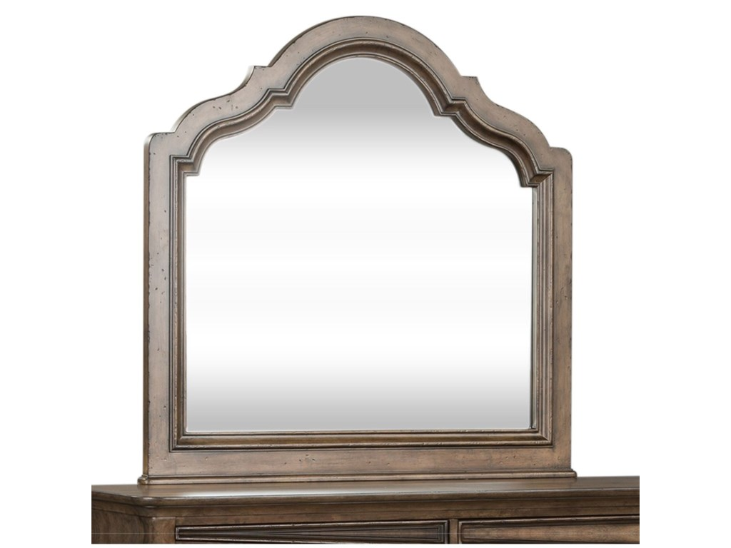 Liberty Furniture Parisian MarketplaceScalloped Mirror