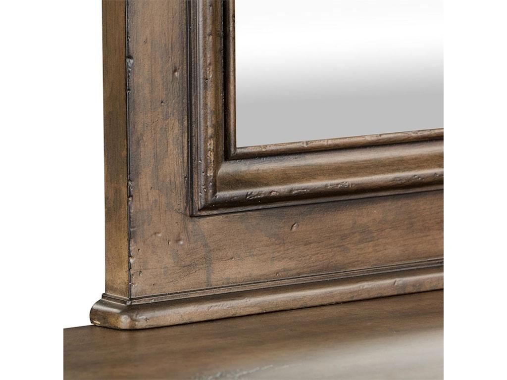 Liberty Furniture Parisian MarketplaceScalloped Mirror
