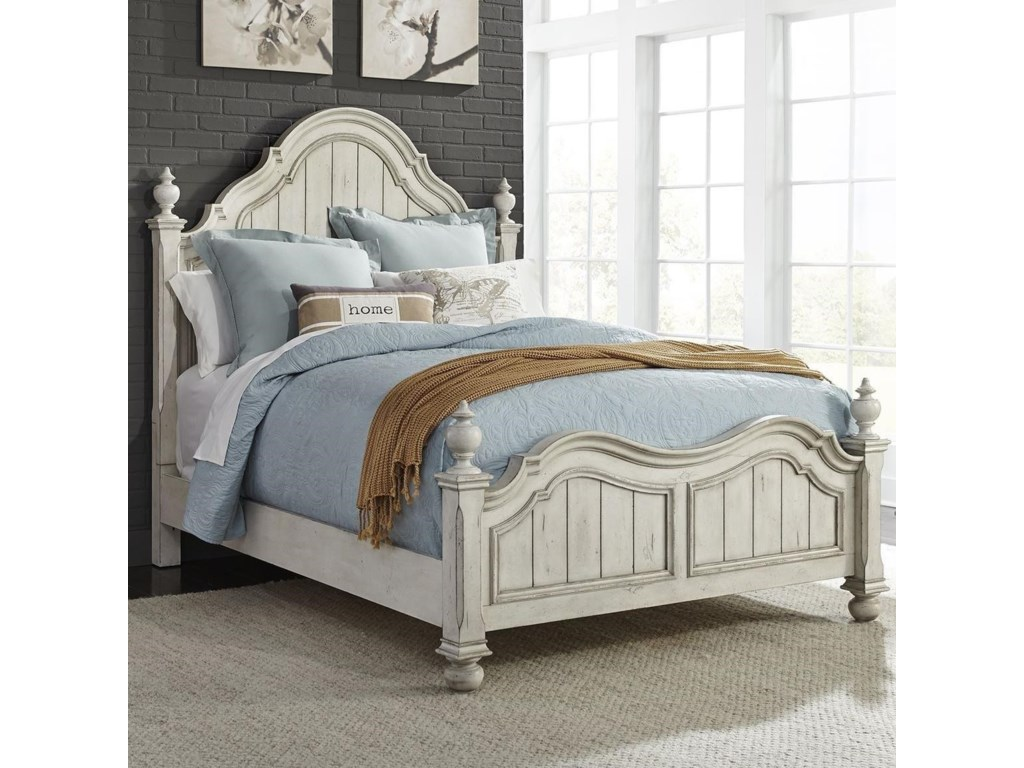Liberty Furniture Parisian MarketplaceQueen Poster Bed