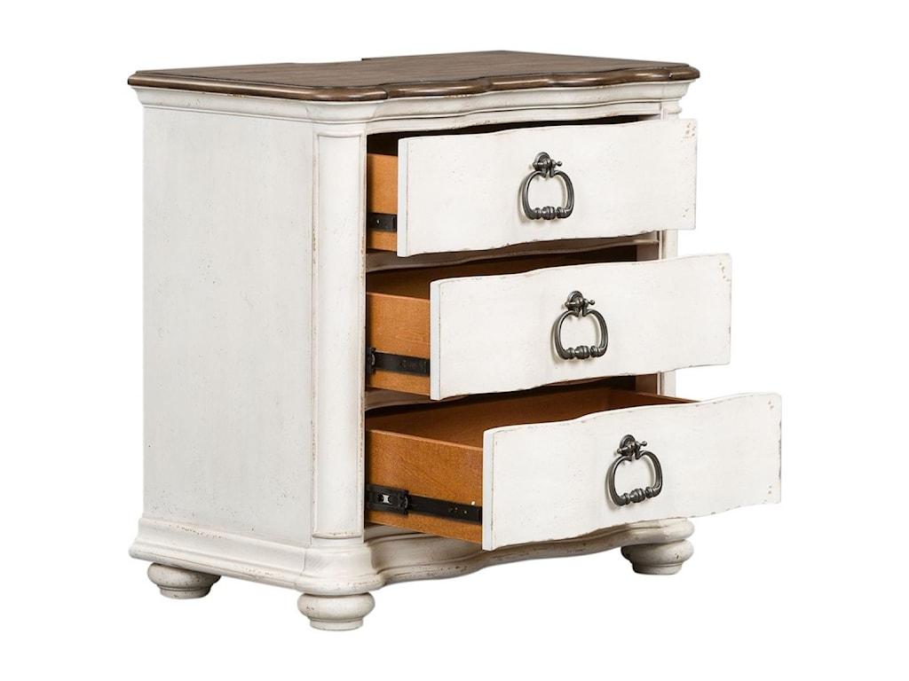 Liberty Furniture Parisian Marketplace3 Drawer Nightstand