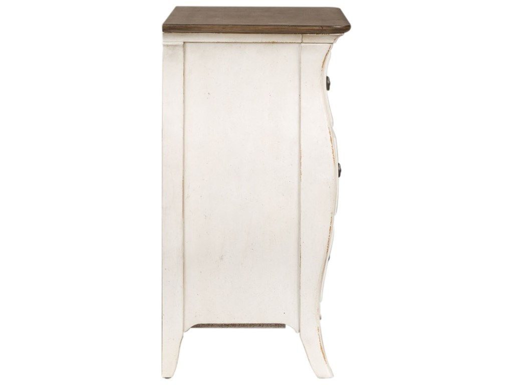 Liberty Furniture Parisian Marketplace3 Drawer Bedside Chest