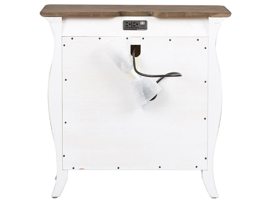 Liberty Furniture Parisian Marketplace3 Drawer Bombay Nightstand