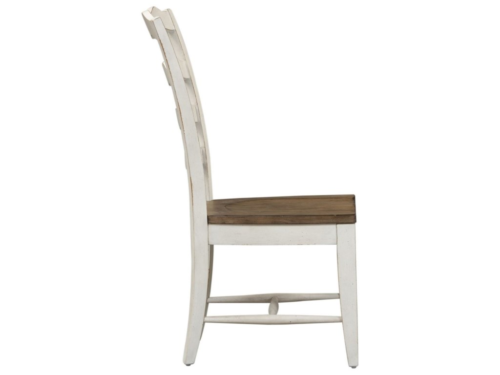 Liberty Furniture Parisian MarketplaceLadder Back Side Chair