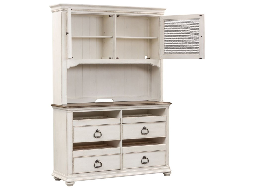 Liberty Furniture Parisian MarketplaceWine Server and Hutch