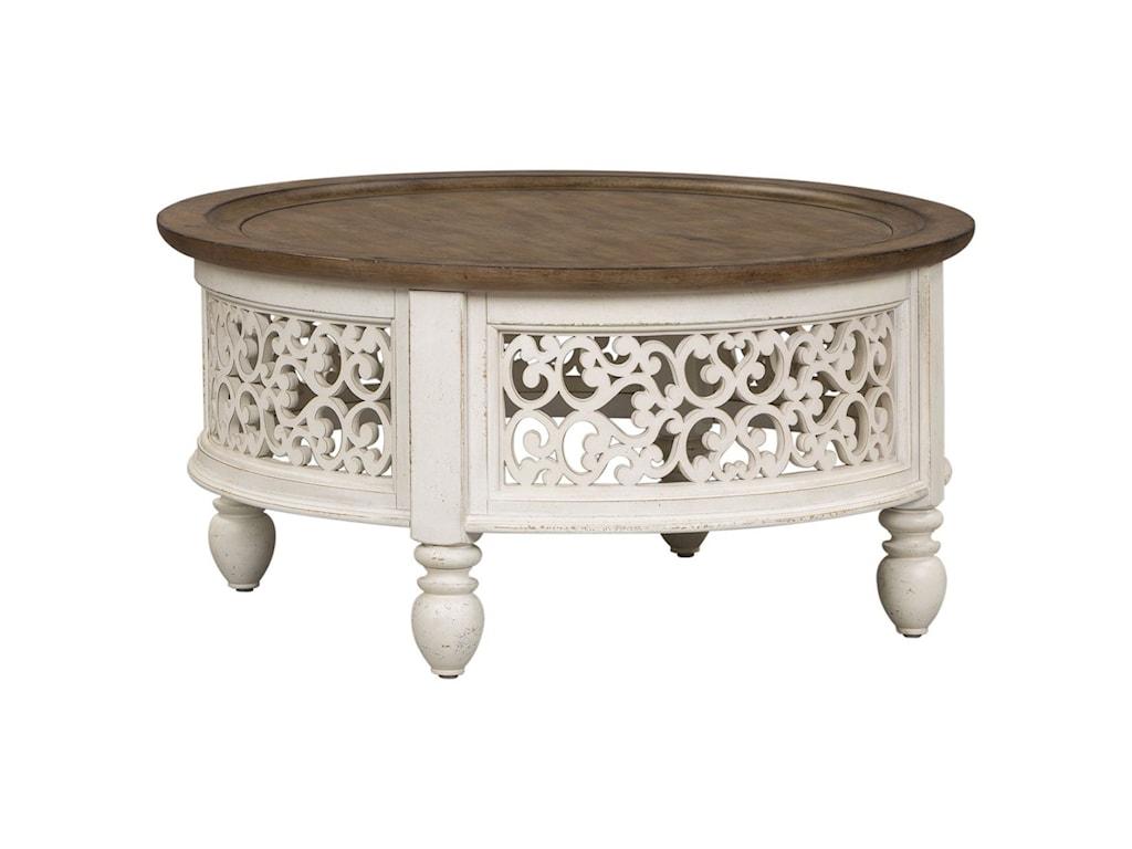 Liberty Furniture Parisian MarketplaceRound Cocktail Table