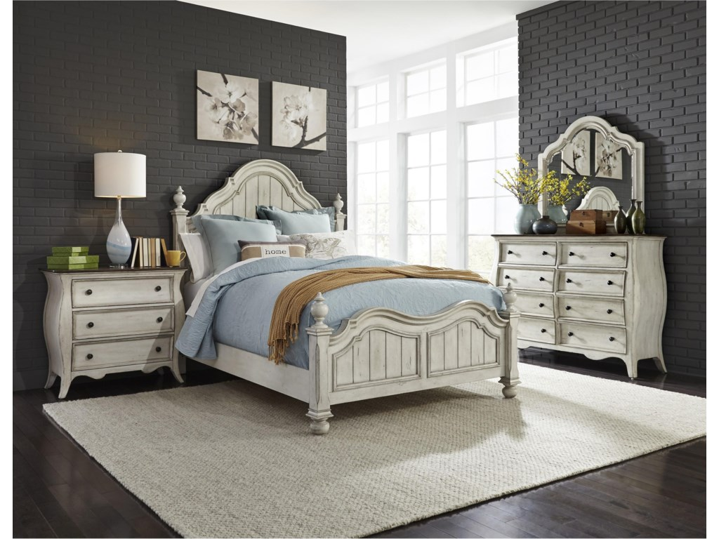 Liberty Furniture ParisianQueen 5 Pc Group