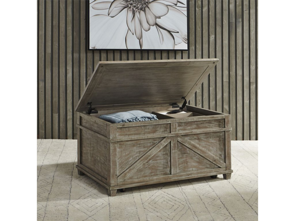 Liberty Furniture Parkland FallsStorage Trunk