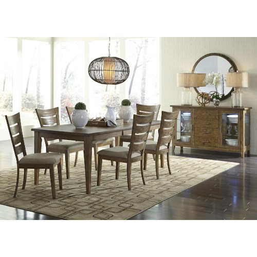 Liberty furniture pebble creek casual dining room group northeast factory direct casual - Dining rooms direct ...
