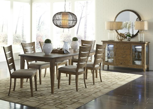 Liberty Furniture Pebble Creek Casual Dining Room Group