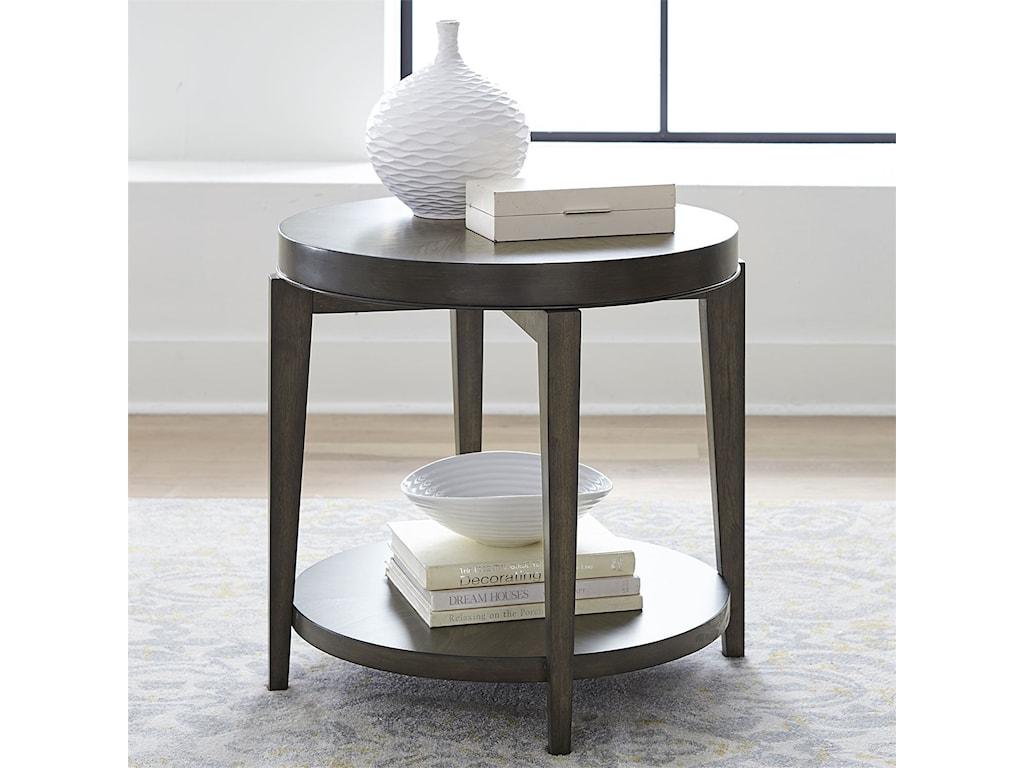 Liberty Furniture PentonRound End Table