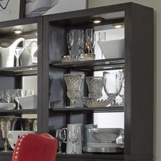Liberty Furniture PlatinumCurio Hutch