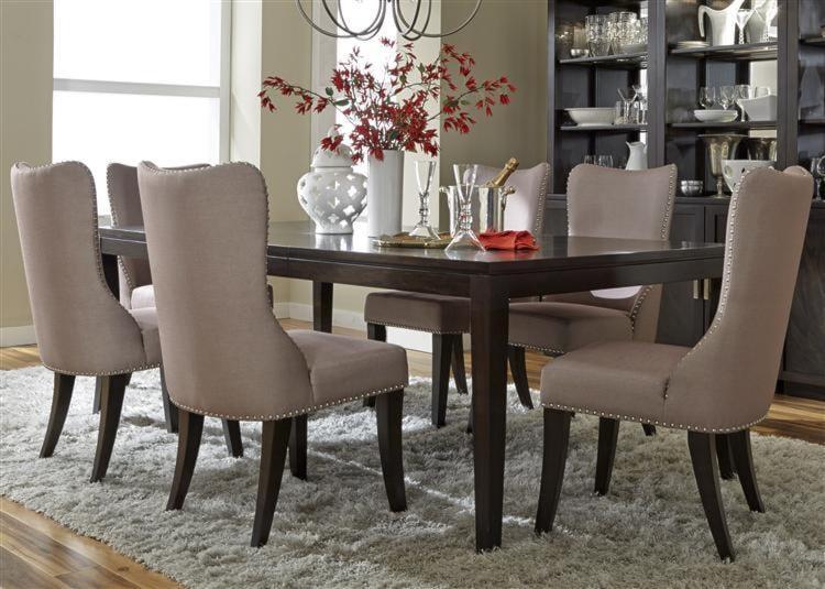 Liberty Furniture PlatinumLeg Table and 6 Side Chair Set