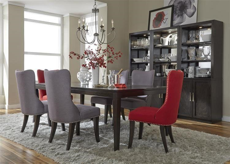 Liberty Furniture PlatinumContemporary Dining Table Group