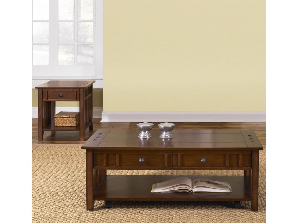 Liberty Furniture Prairie Hills3-Piece Table Set