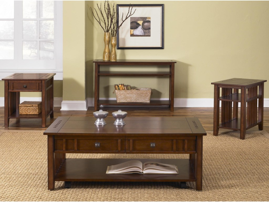 Shown with Cocktail, End & Sofa Table