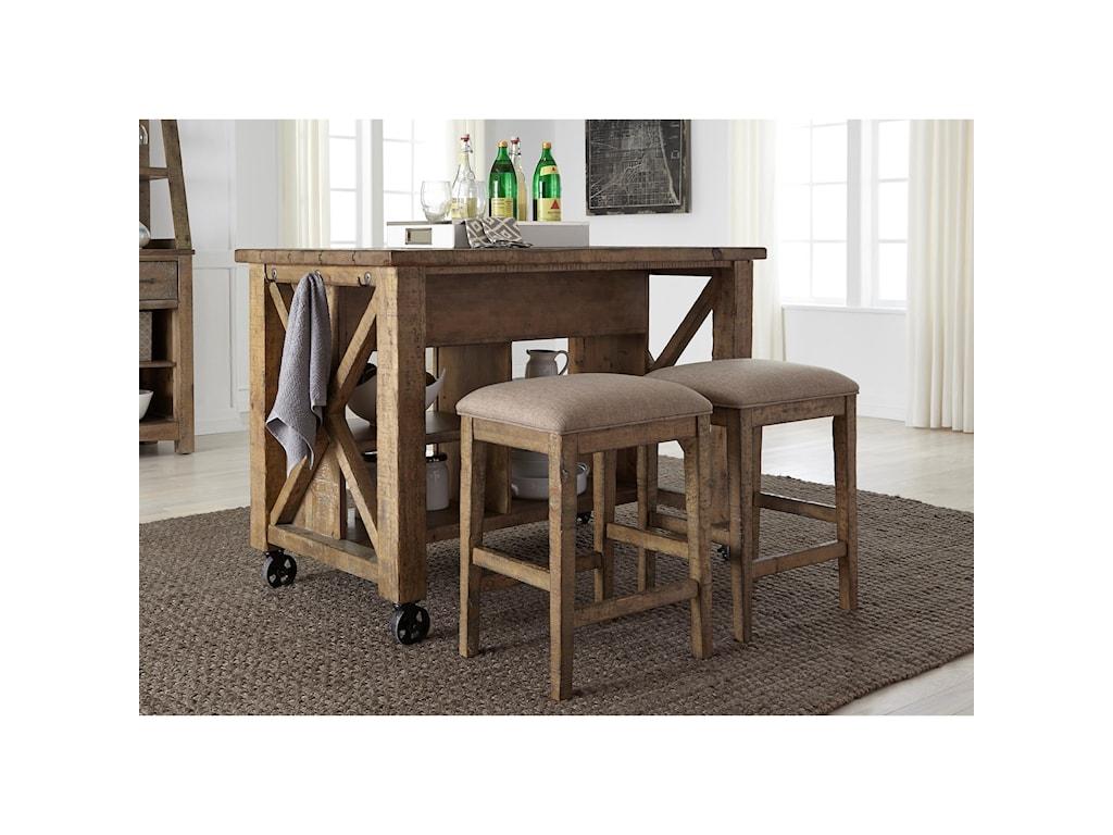 Liberty Furniture Prescott ValleyGathering Table Set