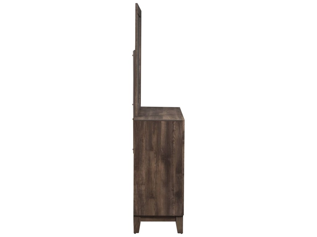 Liberty Furniture RidgecrestDresser and Mirror Set