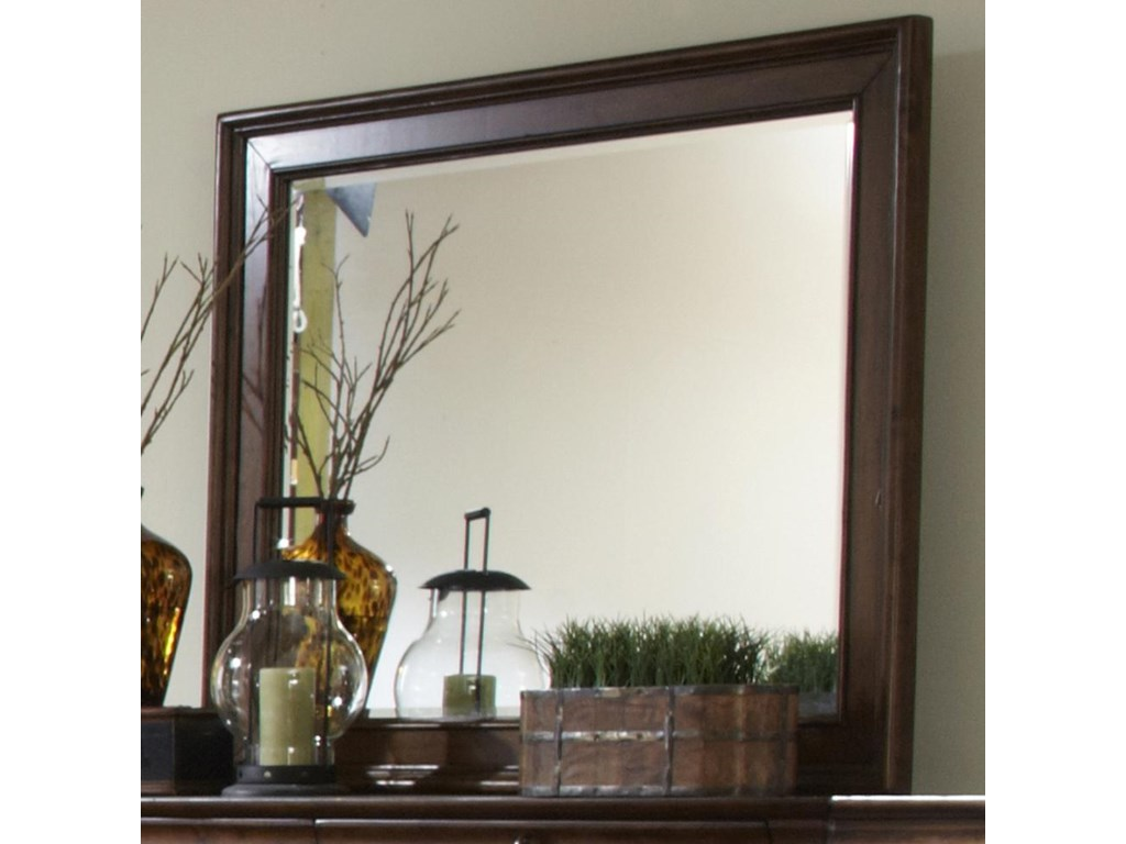 Liberty Furniture Rustic TraditionsLandscape Mirror