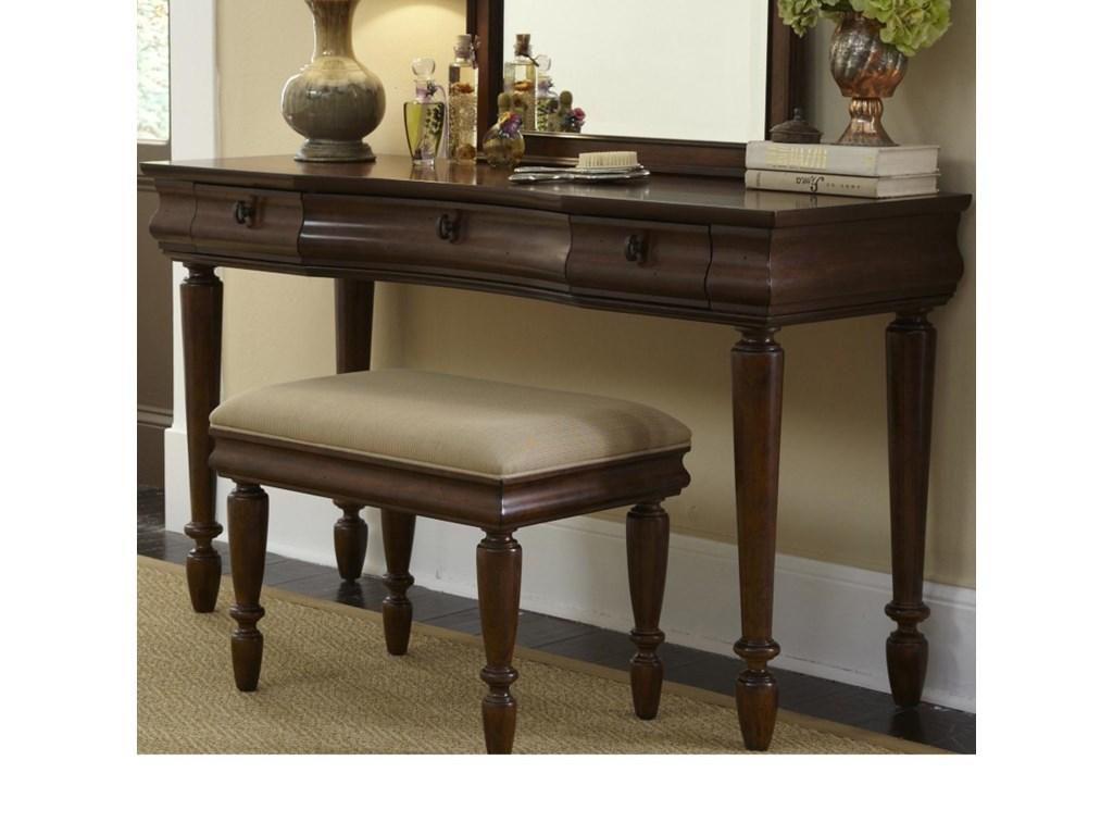 Liberty Furniture Rustic TraditionsVanity Bench (RTA)