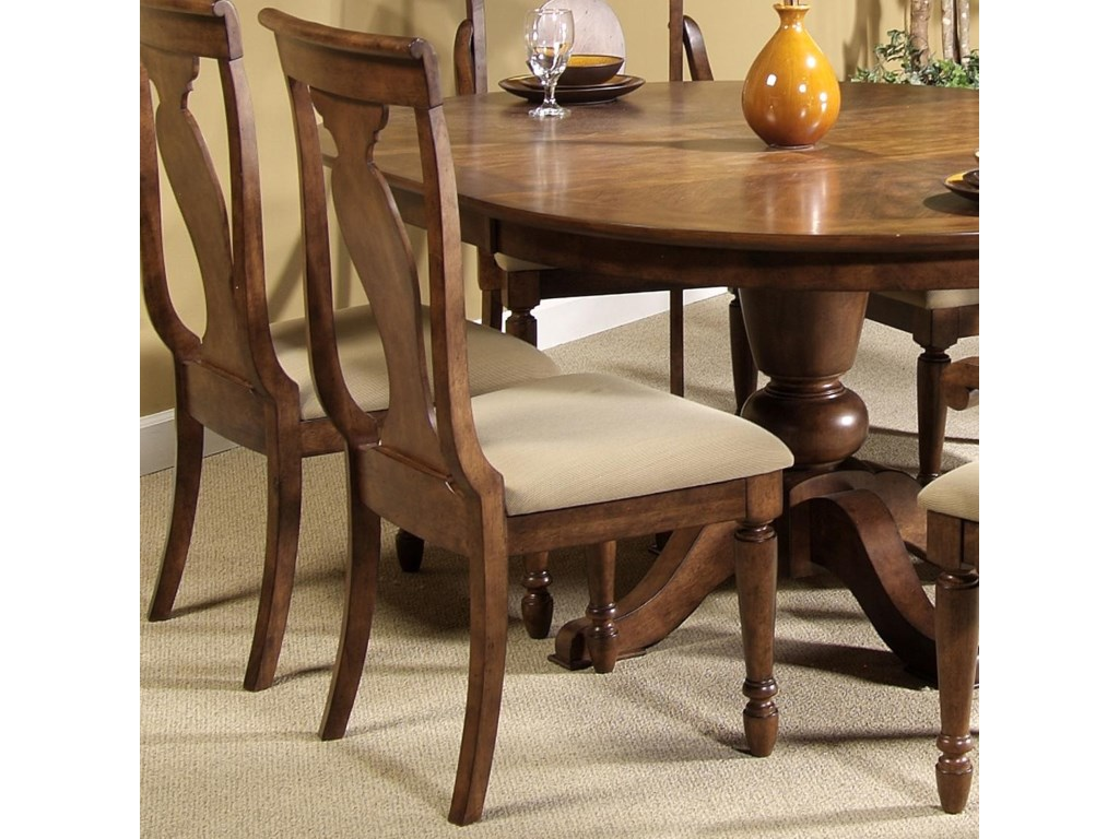 Liberty Furniture Rustic TraditionsSplat Back Side Chair