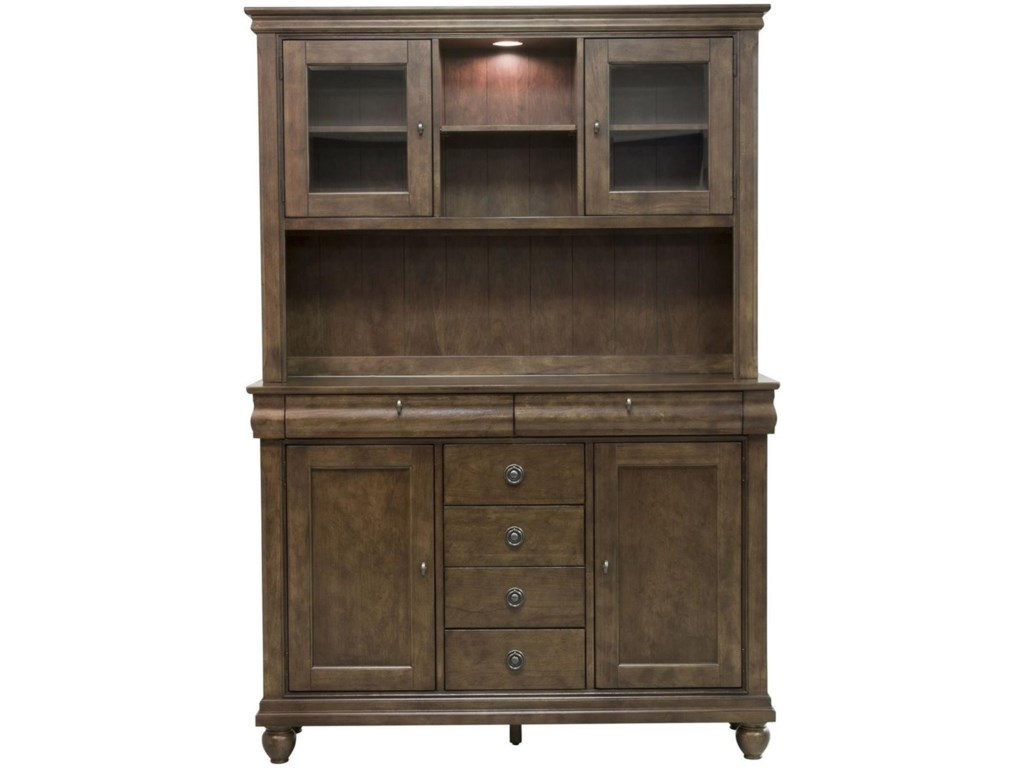Liberty Furniture Rustic Traditionsserver Hutch