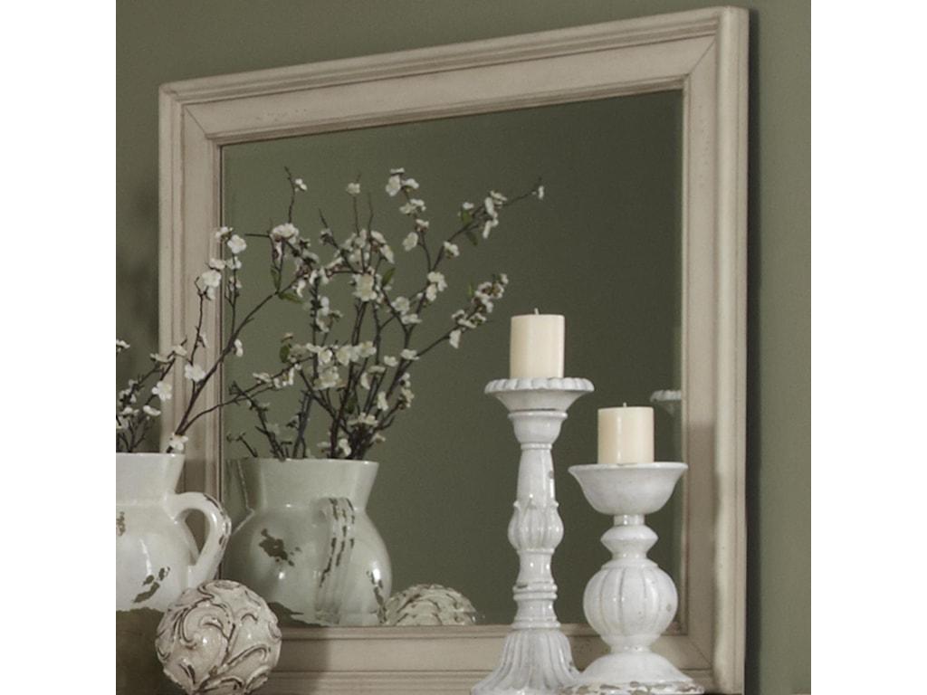 Liberty Furniture Rustic TraditionsLandscape Mirror