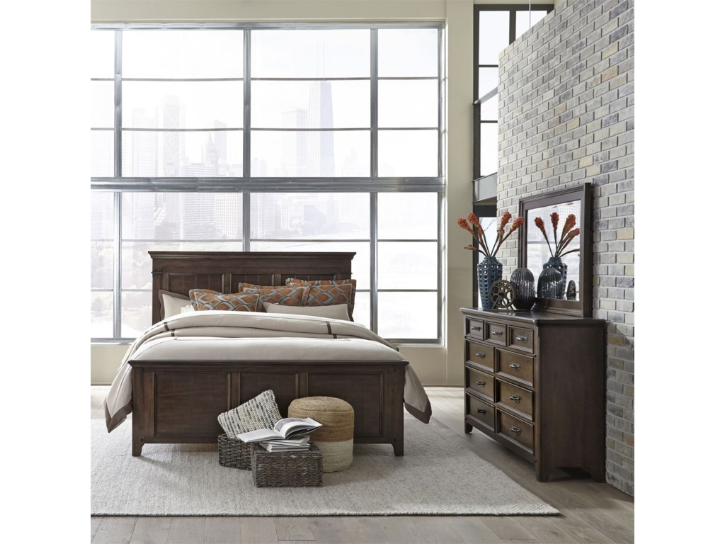 Liberty Furniture SaddlebrookQueen Bedroom Group