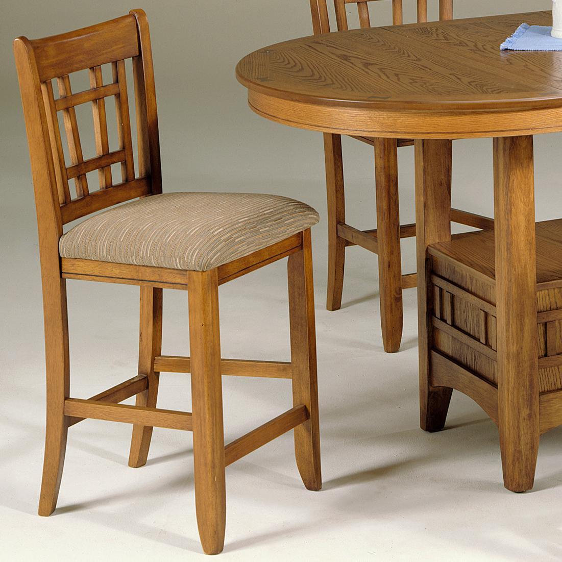 Liberty Furniture Santa Rosa 24 Inch Upholstered Barstool