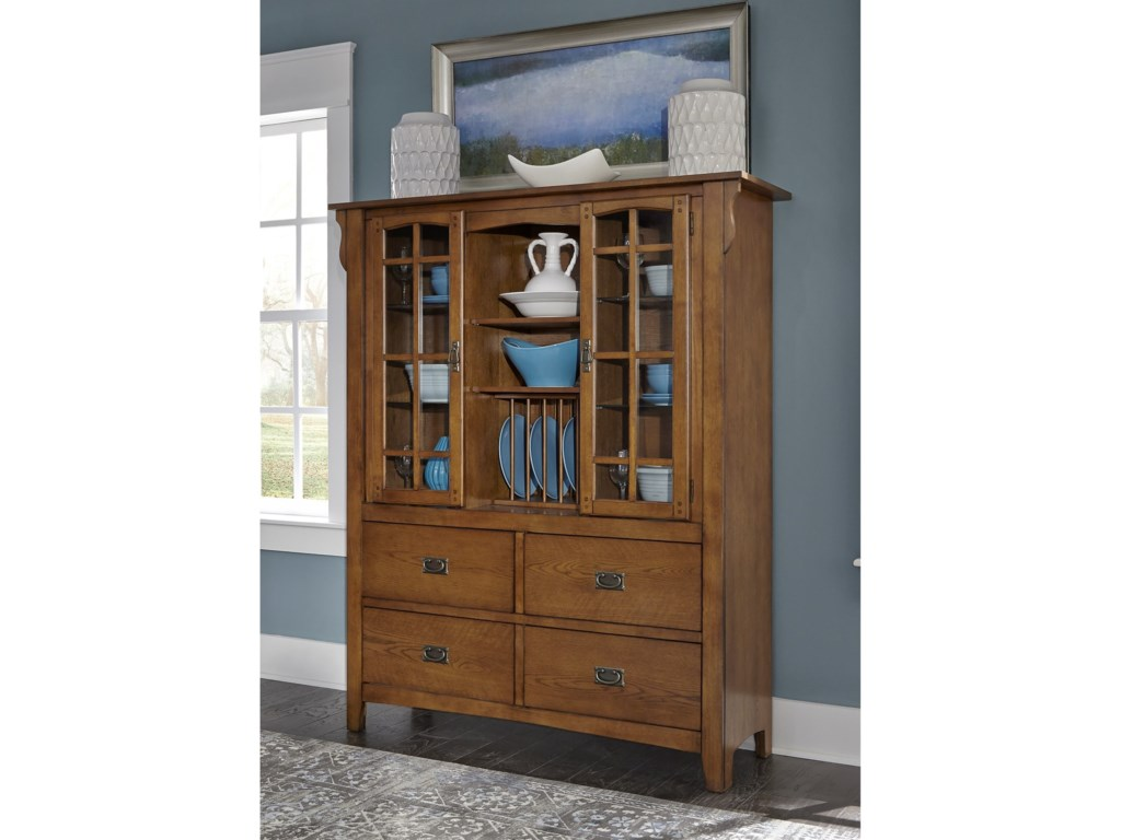 Liberty Furniture Santa Rosadisplay Cabinet