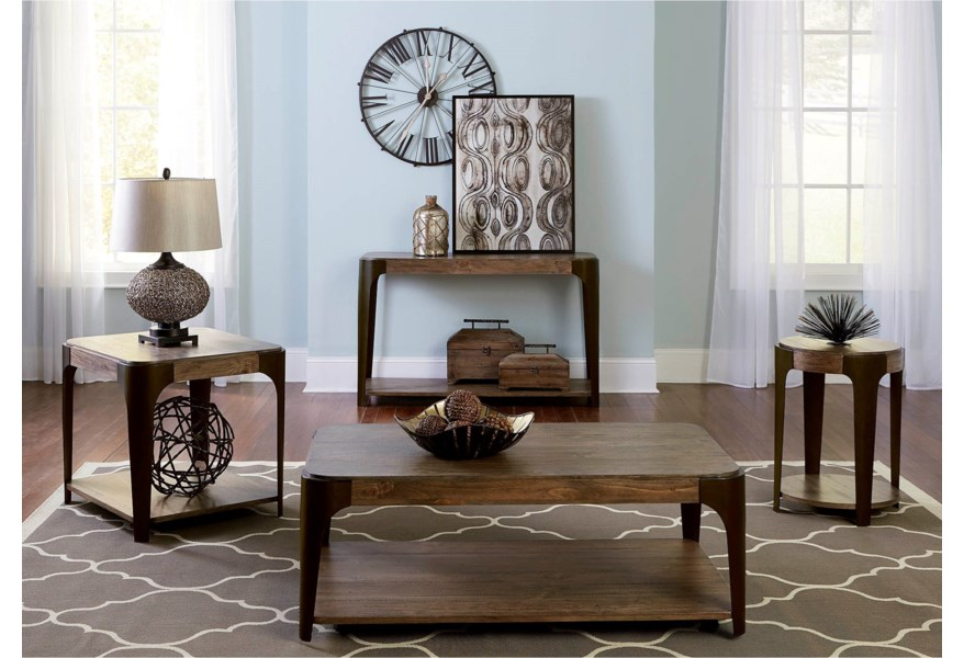 Lakeville Rectangular End Table With Shelf Rotmans End Tables